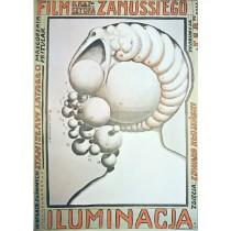 Iluminacja Krzysztof Zanussi Franciszek Starowieyski polski plakat