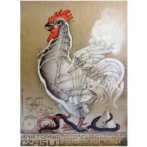 Anatomia czasu 1979  Franciszek Starowieyski polski plakat