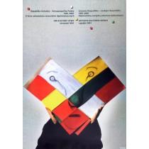 Dni kultury Litwy Stasys Eidrigevicius polski plakat