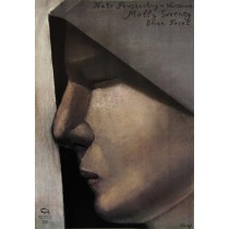 Molly Sweeney Stasys Eidrigevicius polski plakat