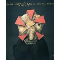 Wspaniałe życie Stasys Eidrigevicius polski plakat