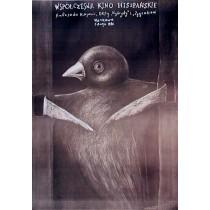 Współczesne kino hiszpańskie Stasys Eidrigevicius polski plakat