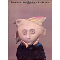 Teatr Miniatura w Gdańsku 40 lat Stasys Eidrigevicius polski plakat