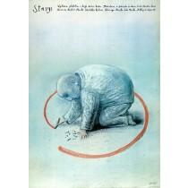 Wystawa Gdańsk Stasys Eidrigevicius polski plakat