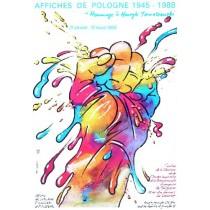 Affiches de Pologne 1945-1988 Homage a Henryk Tomaszewski Waldemar Świerzy polski plakat