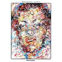 Billie Holiday - wielcy ludzie jazzu Waldemar Świerzy polski plakat