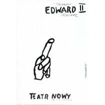 Edward II Henryk Tomaszewski polski plakat