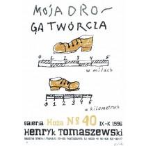 Moja droga twórcza Henryk Tomaszewski polski plakat