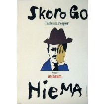 Skoro go nie ma Henryk Tomaszewski polski plakat