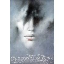 Czarodziejska góra Wiesław Wałkuski polski plakat
