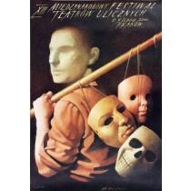 Festiwal Teatrow Ulicznych, 13. Wiesław Wałkuski polski plakat