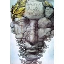 Juliusz Cezar Wiesław Wałkuski polski plakat