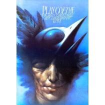 Play Goethe Wiesław Wałkuski polski plakat