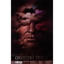 Orkiestra Titanic Wiesław Wałkuski polski plakat