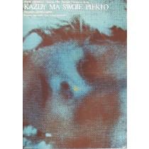 Każdy ma swoje piekło Andre Cayatte Mieczysław Wasilewski polski plakat