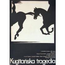 Kugitańska tragedia Kakow Orazschatow Mieczysław Wasilewski polski plakat