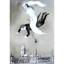 Wesele Janusz Wiśniewski polski plakat