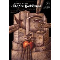 Artyści Polscy w The New York Times Leszek Wiśniewski polski plakat