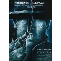 Verbrechen als Ritual Leszek Wiśniewski polski plakat