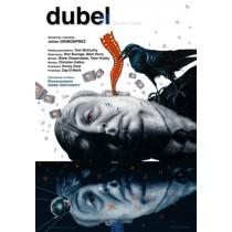 Dubel Leszek Wiśniewski polski plakat