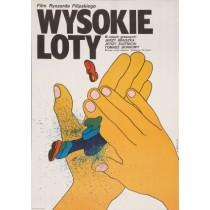 Wysokie loty, Ryszard Filipski Maciej Żbikowski polski plakat