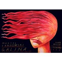 Galina Leszek Żebrowski polski plakat