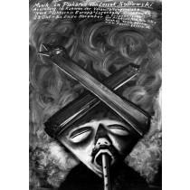 Muzyka w Plakacie Leszek Żebrowski polski plakat