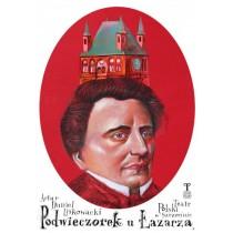 Podwieczorek u Łazarza  polski plakat
