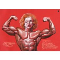 Ja Marilyn Teatr Stajnia Pegaza  polski plakat