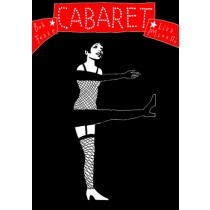 Cabaret Bob Fosse Leszek Żebrowski polski plakat