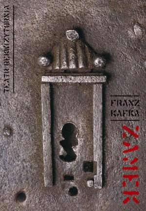 Zamek Tomasz Bogusławski Polski plakat teatralny
