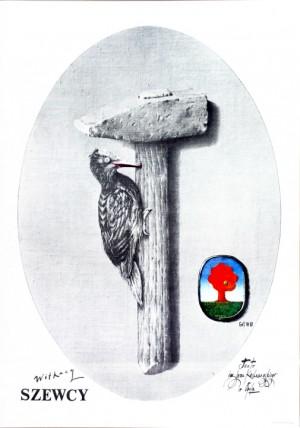 Szewcy Eugeniusz Get Stankiewicz Polski plakat teatralny