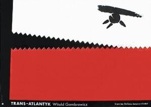 Trans-Atlantyk Eugeniusz Get Stankiewicz Polski plakat teatralny