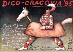 Dico-Cracovia 95 Mieczysław Górowski Polski plakat teatralny