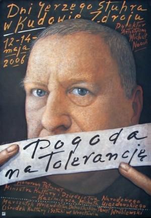 Dni Jerzego Stuhra Mieczysław Górowski Polski plakat