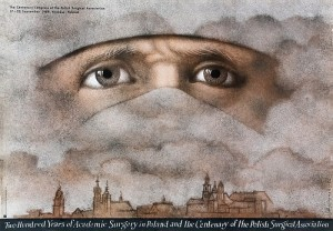 200 Years of Academic Surgery Mieczysław Górowski Polski plakat