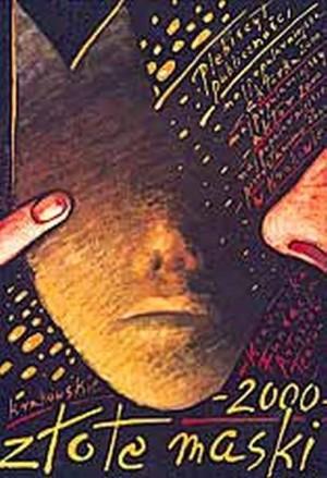 Złote Maski Kraków 2000 Mieczysław Górowski Polski plakat