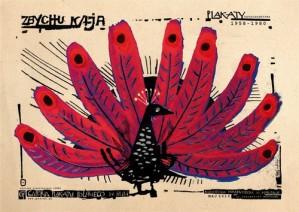 Zbychu Kaja wystawa Ryszard Kaja Polski plakat wystawowy
