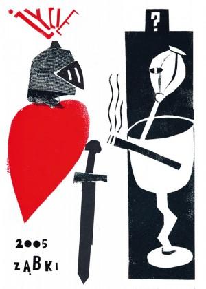 Życie Ząbki 2005 Sebastian Kubica Polski plakat