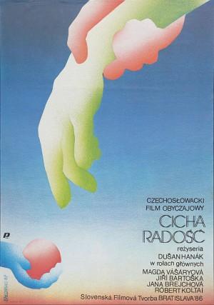 Cicha radość Mirosław Łakomski polski plakat