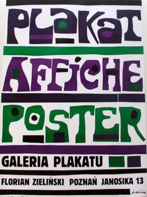 Plakat Affiche Poster Jan Lenica Polski plakat