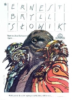 Słowik Grzegorz Marszałek polski plakat