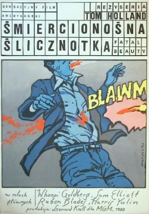 Śmiercionośna ślicznotka Tom Holland Grzegorz Marszałek polski plakat