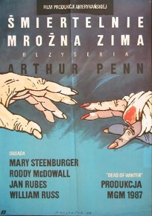Śmiertelnie mroźna zima Arthur Penn Grzegorz Marszałek polski plakat