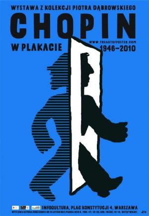 Chopin w plakacie Piotr Młodożeniec Polski plakat muzyczny