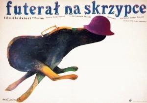 Futerał na skrzypce Gunter Friedrich Marian Nowiński polski plakat