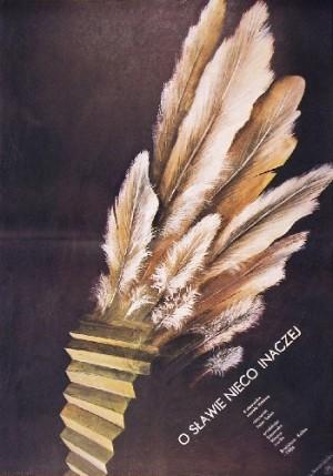 O sławie nieco inaczej Peter Solan Marian Nowiński polski plakat