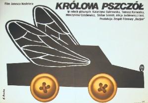 Królowa pszczół Janusz Nasfeter Elżbieta Procka Polski plakat filmowy