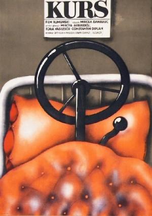Kurs Mircea Daneliuc Krzysztof Nasfeter polski plakat