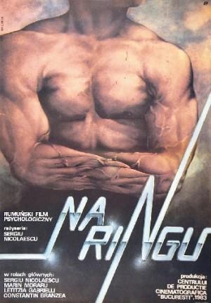 Na ringu Sergiu Nicolaescu Janusz Obłucki polski plakat